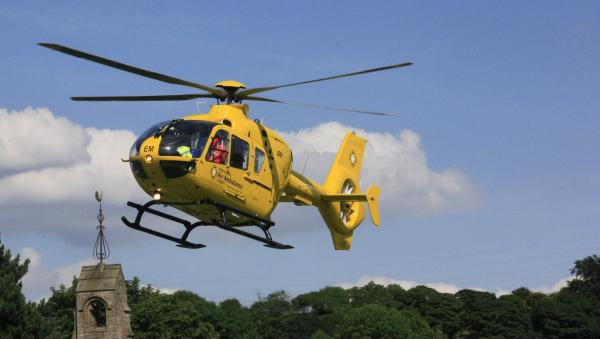 Ten-year-old boy airlifted to hospital after Rising Bridge crash