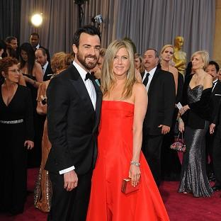 Jennifer Aniston said Justin Theroux is so h