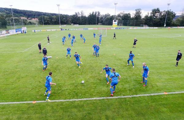 Burnley training in Austria