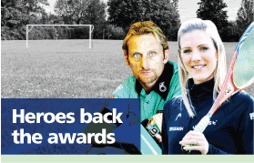 Lancashire Telegraph: Sporting Heroes