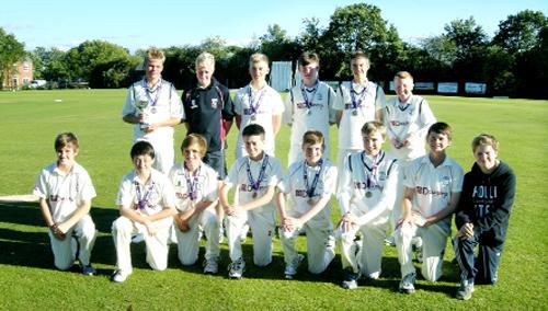 Clitheroe Cobras Under 15s who won the LCB Cup and will now take part in the ECB Under event