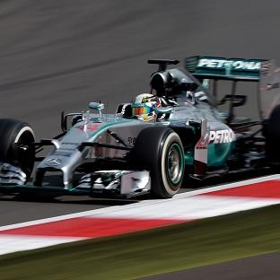 On one of his favourite tracks, the Hungaroring, Lewis Hamilton was quickest in both practice sessions