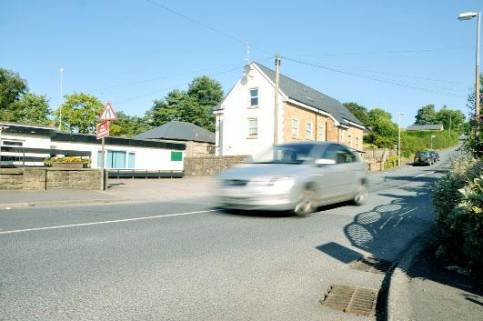 Clitheroe Road in Sabden where speeding is a problem