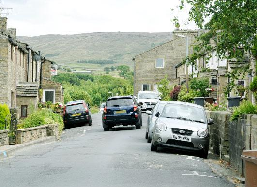 Hollin Hall, Trawden, where residents want action to stop speeding