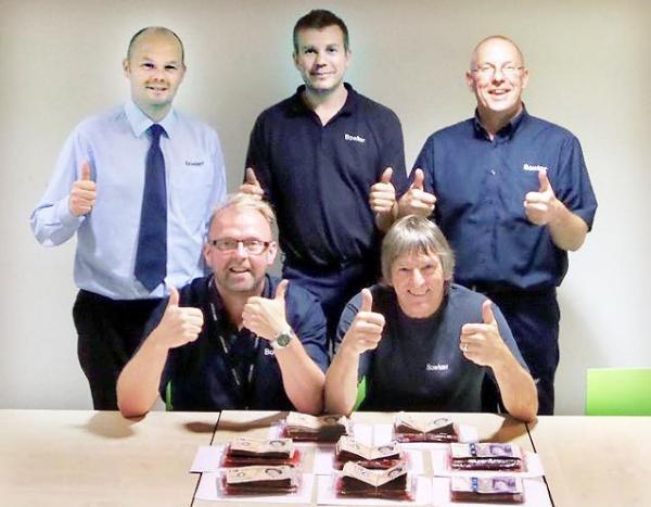 Сотрудники автосалона выиграли 20 тысяч фунтов в лотерею Lotto Raffle!
