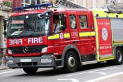 Sports car destroyed in fire near Chorley