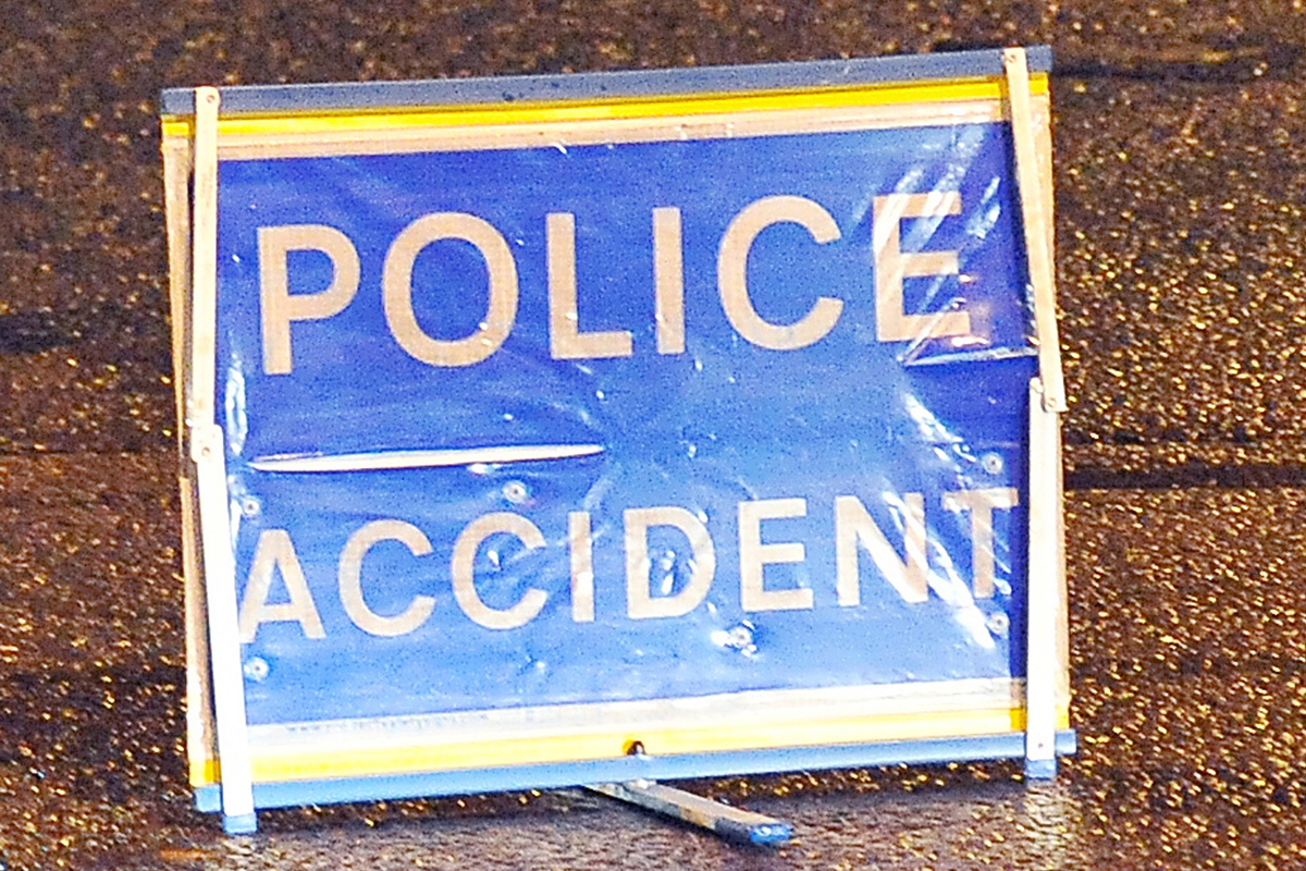 Motorcyclist airlifted to hospital after Blacko crash