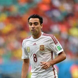 Xavi was a World Cup winner in 2010