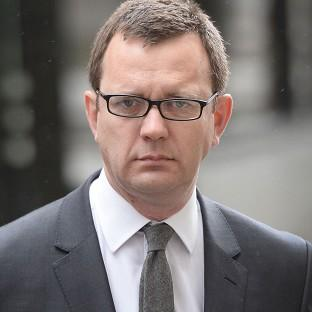 The case against former News of the World editor Andy Coulson was before the High Court in Glasgow