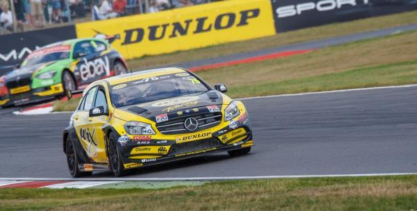 Adam Morgan at Snetterton (Picture: Chris Wynne/Network Images)