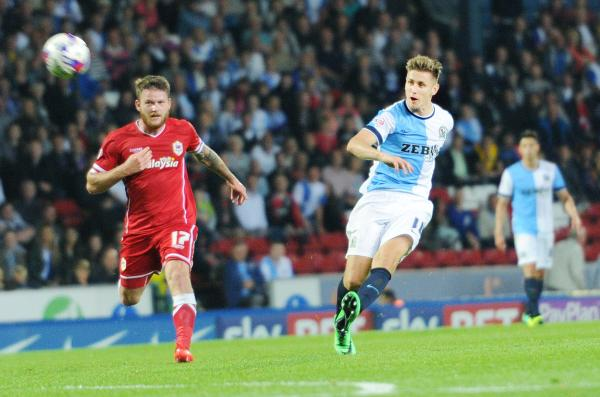 Tom Cairney scores Rovers' equaliser against Cardiff