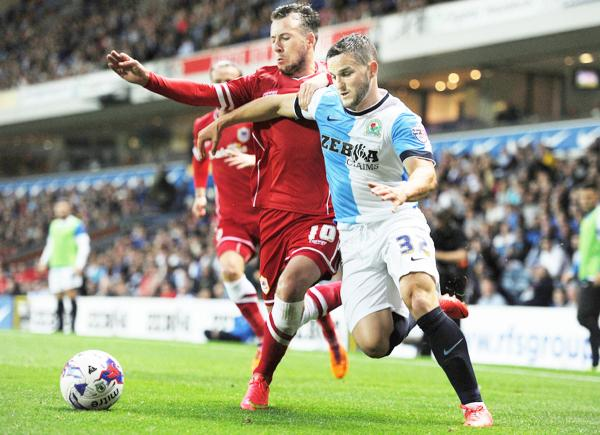 Craig Conway in action for Rovers last night