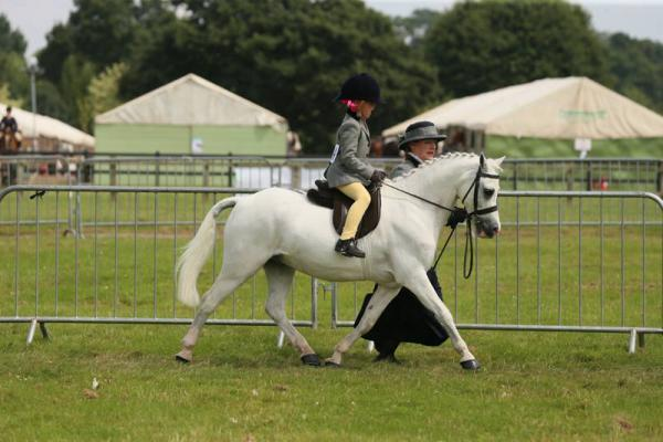 Clitheroe horse rider is national champion aged 6
