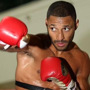 Kell Brook, pictured, will get his belated world title shot when he faces Shawn Porter on Saturday night