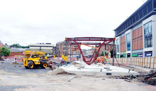 £5m Blackburn bus station rises from the rubble