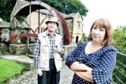 Alan Butterfield and Coun Rosemary Carroll are appealing for help to save the mining museum in Earby