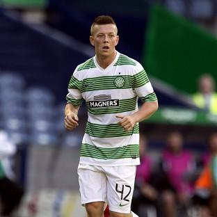 Callum McGregor was on target for Celtic in Slovenia