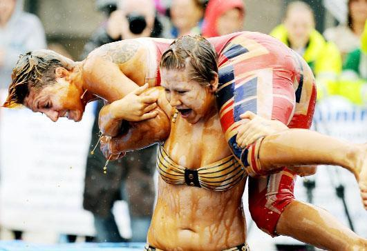 The annual World Gravy Wrestling Championships will be held at the Rose '