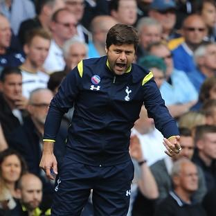 Mauricio Pochettino was happy to see his Tottenham forward men running free and rampant against QPR