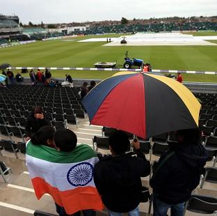 Rain prevented any play at the Bristol County Ground in Bristol.