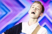 Reece Bibby performs on X Factor