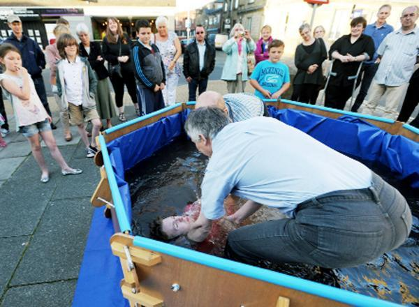 First public baptisms take place in Burnley