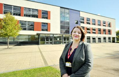 Ruth England, the new head teacher at Shuttleworth College in Padiham
