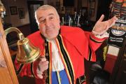 DARWEN town crier is looking for a new bell