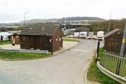 The travellers site in Accrington