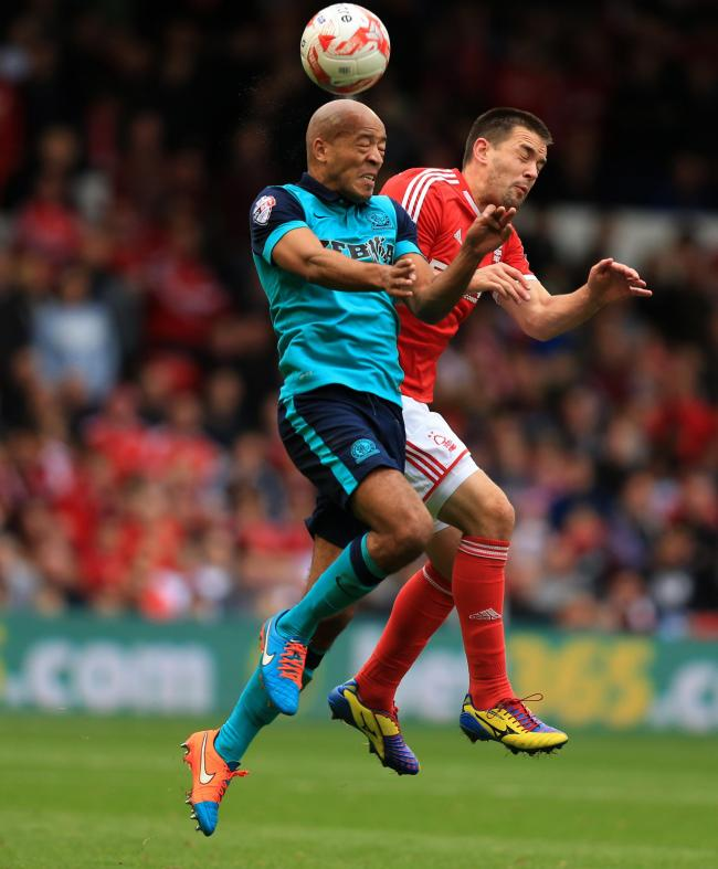 Goal was special against boyhood club, says Blackburn Rovers defender Alex Baptiste