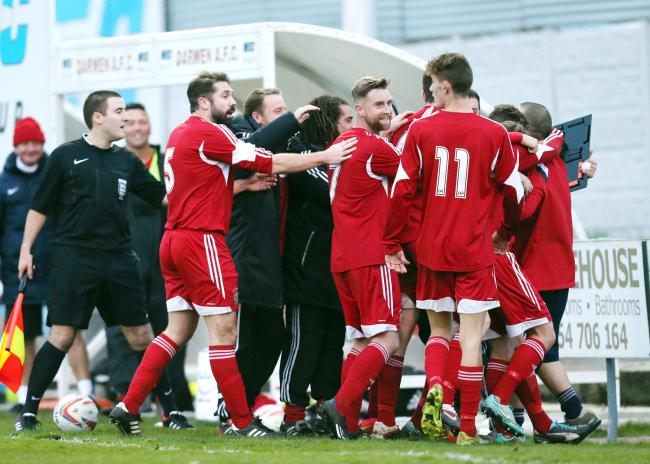 Darwen have plenty to celebrate, they are unbeaten in seven games and on Saturday attracted their biggest gate of the season