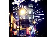Fireworks over Chorley Town Hall (picture Lyndsey Shorrock)
