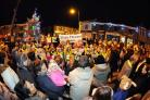 Big turnout for Clayton-le-Moors Christmas lights switch-on