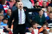 Burnley manager Sean Dyche has reitereated last season's 'one game at a time' mantra that helped the club win promotion back to the Premier League  Burnley manager Sean Dyche gestures on the touchline during the Barclays Premier League match at the