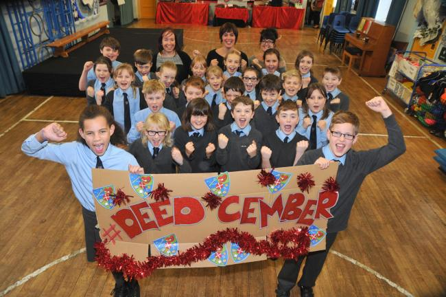 Wheatley Primary School pupils get fired up to make a difference in Deedcember.