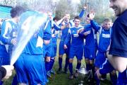 Pictures from Padiham FC's North West Counties title win