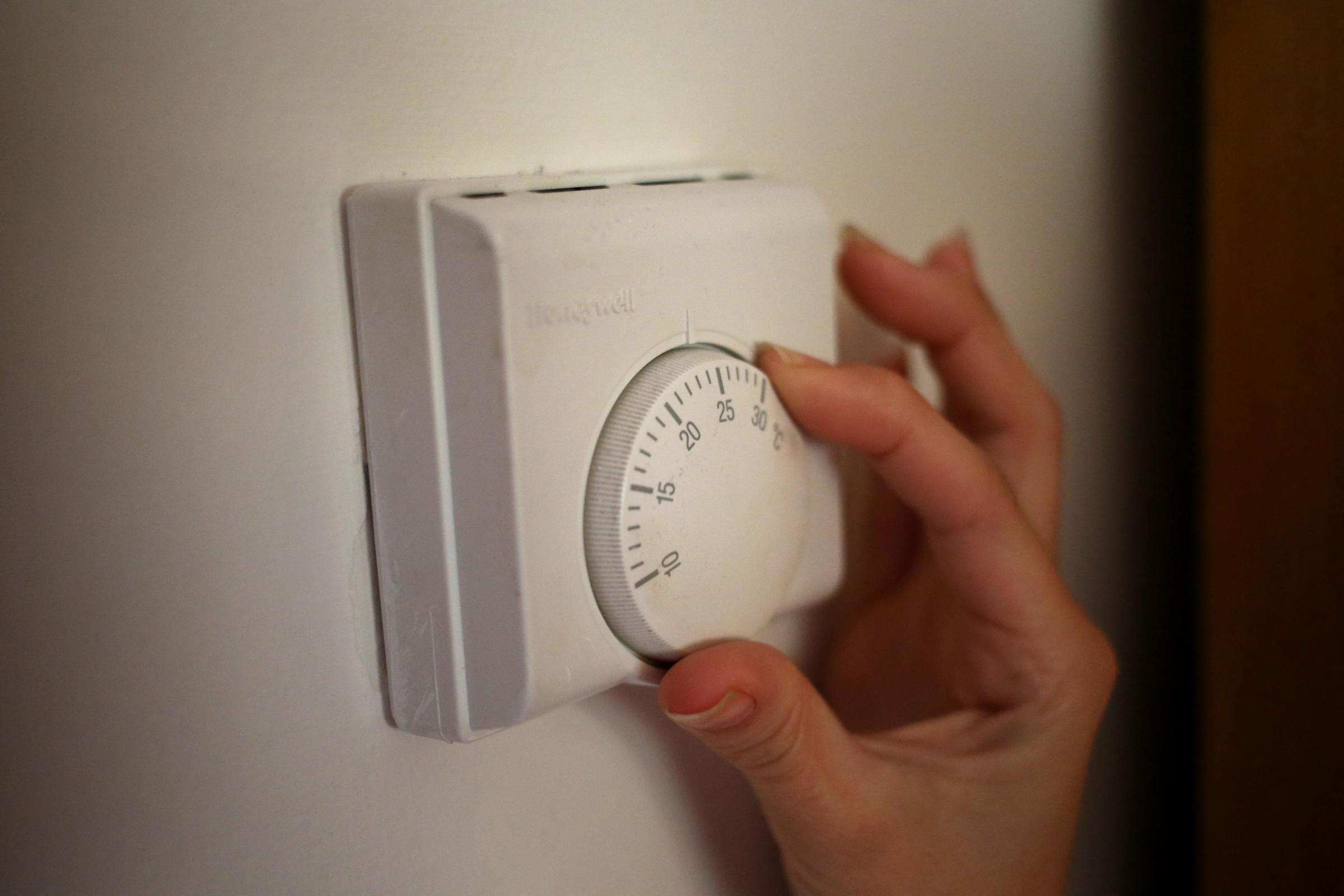 The council said 5.2 per cent of homes are currently without central heating