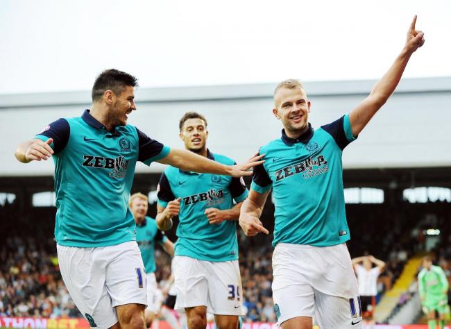 Jordan Rhodes (right) cut his teeth at Brentford before forging a reputation as a goalscorer of some repute with Rovers