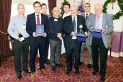 Northern Industrial staff with the East Lancs Chamber of Commerce Export Award