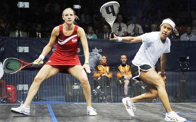 Familiar face awaits Laura Massaro at World Squash