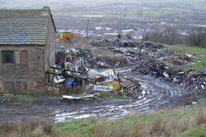 Council calling for action over 'eyesore' Colne farm