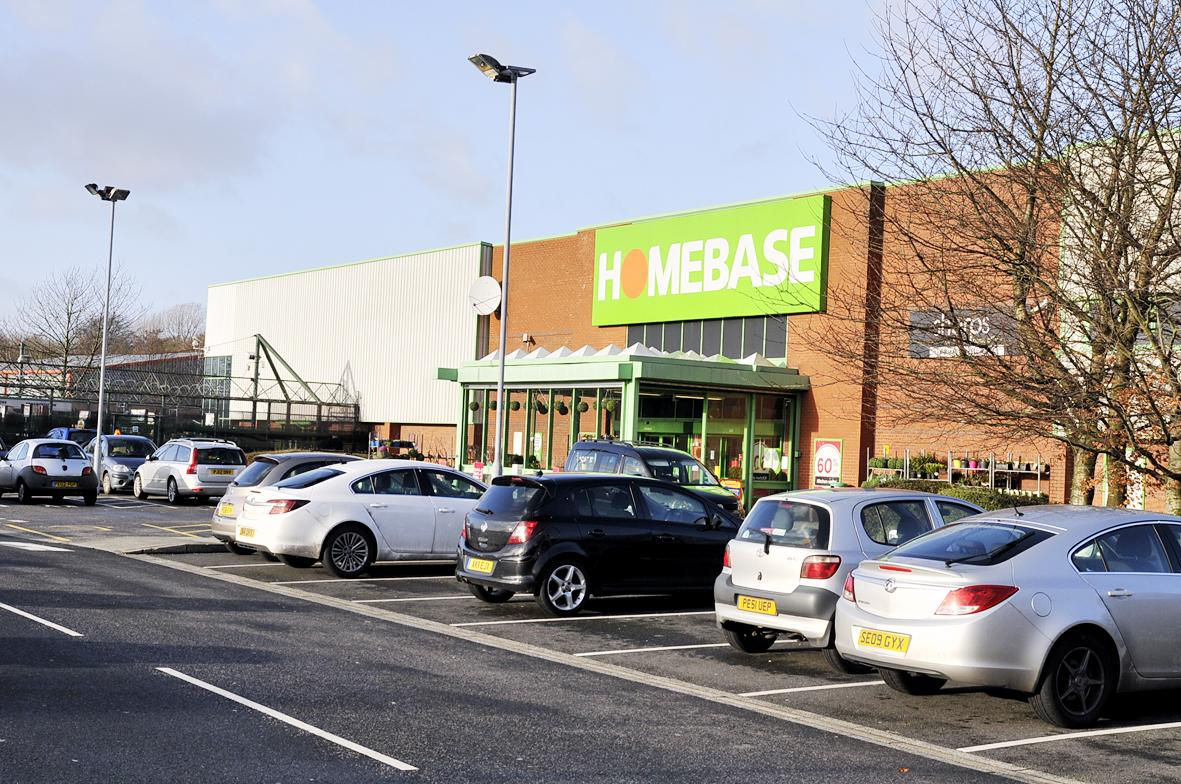 NEW LOOK: Accrington's Homebase is to close down