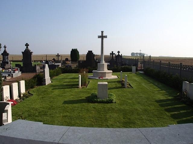 SAD: Esnes Communal Cemetery, near Cambrai