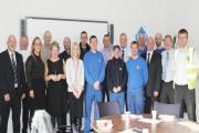 AWARDS: Some of the 31 VEKA employees who were honoured