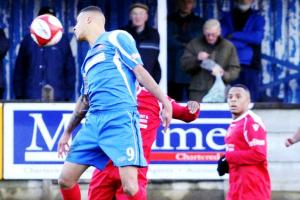Gonzales scores twice as Clitheroe throw away three-goal lead