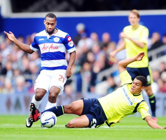Junior Hoilett has struggled to make an impact since leaving Rovers for QPR