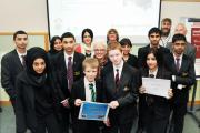 IDEAS: Pupils from Marsden Heights and Primet Academy in Nelson receive a £500 grant to implement their projects