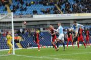 Less than 6,000 fans watched Rudy Gestede and Rovers beat Swansea on Saturday