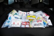 PACKS: Suspected illicit cigarettes and tobacco bought in Blackburn. the  Philip Morris International Group were in town after doing 'empty packe
