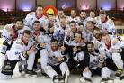 NUMBER ONE: Blackburn Hawks last night won the NIHL Division One North with a 6-2 home win over Sheffield Spartans